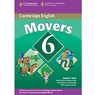 Cambridge Young Learner English Test Movers 6 Student Book thumbnail