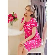 Đồ mặc nhà Bộ lửng nữ tay ngắn Tvm Luxury Homewear B529 thumbnail