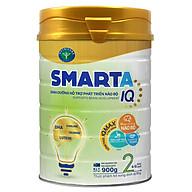 Sữa bột SmartA IQ 2 dinh dưỡng hỗ trợ phát triển não bộ cho bé 6-12 tháng tuổi (400g, 900g) thumbnail
