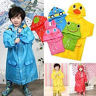 Áo mưa xuất cho bé cao từ 90-130cm an toàn cho trẻ thumbnail