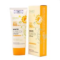 Kem chống nắng Hàn Quốc cao cấp Dabo White Sunblock Cream SPF 50 PA+++ (70ml) thumbnail