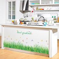 Decal dán chân tường cỏ voi xanh cho bé SK7090 thumbnail