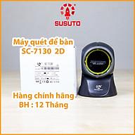 MÁY QUÉT MÃ VẠCH CÓ DÂY ĐỂ BÀN SC-7130-2D (Hàng chính hãng) thumbnail