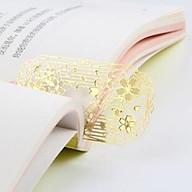 Bookmark kim loại đánh dấu trang sách cổ trang sakura thumbnail