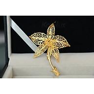 Quà tặng sếp nữ Cài áo hoa lan mạ vàng 24K thumbnail