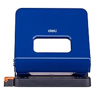 Bấm lỗ giấy vỏ kim loại Deli 142 25 tờ Đục lỗ giấy văn phòng Giao màu ngẫu nhiên thumbnail