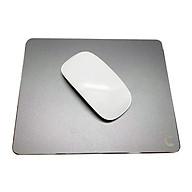 Miếng Lót Chuột Nhôm Lucas (Mouse pad) Aluminum 220x180mm - Hàng Chính Hãng thumbnail