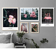 Tranh treo tường, tranh canvas TB92 bộ 5 tấm thumbnail