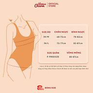 Áo bra satin Venus Charm đệm mỏng trơn dây mảnh thoáng mát 2864 thumbnail