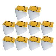 Combo 10 Xấp 100 Thẻ Flashcard Trắng 4.5 x 8 x 3.7cm Học Tiếng Anh Kèm Khoen Bìa thumbnail