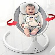 Nôi điện tự động ru ngủ cho bé có điều khiển , màn chống côn trùng , Võng điện trẻ em thumbnail