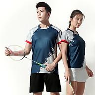 Áo thể thao cầu lông Nam Sunbatta Y-M2005 chất liệu 100% Polyester, nhẹ nhàng, khô thoáng, nhanh khô, không lưu lại mùi và vệt mồ hôi trên áo thumbnail