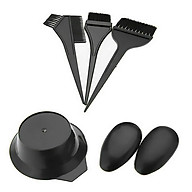 5Pcs Set Hair Coloring Suit Salon Tool 1 Hair Tinting Bowl 2 Ear Covers 3 Dye Brushes Comb for Home & Salon thumbnail