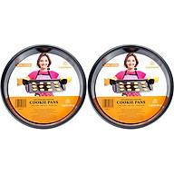 Combo 2 Khay Nướng Bánh CD 24x3.9cm Carlmann CM008235 thumbnail