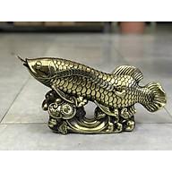 Cá Rồng bằng đồng cao 21cm thumbnail