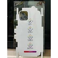 Miếng Dán PPF Cầu Vồng Tự Phục Hồi Mặt Sau cho iPhone X XS XS Max 11 11 Pro 11 Pro Max 12 Mini 12 12 Pro 12 Pro Max - Hàng Chính Hãng thumbnail