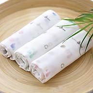 Khăn Sữa Sợi Tre Bamboo Bebe Hoạ Tiết Set 6 Cái thumbnail