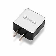Adapter USB Sạc Du Lịch - Trắng (Phích Cắm US) thumbnail