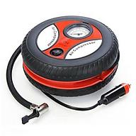 Máy bơm mini hình bánh xe dạng tròn chuyển dụng bớm lốp ô tô, xe máy, bóng hơi, bể bơi trẻ em thumbnail