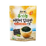 Rong biển rắc cơm hữu cơ cho bé vị rau củ Alvins 21gr thumbnail