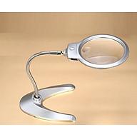 Kính lúp để bàn có đèn hỗ trợ chiếu sáng (Tặng kèm miếng thép đa năng 11in1) thumbnail