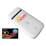 Bộ Phát Wifi Di Động 3G ZTE MF65 Và Sim 3G 4G Vinaphone VD89 - Hàng Nhập Khẩu thumbnail