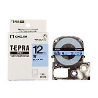 Băng mực in nhãn Tepra cỡ 12mm dùng cho máy TEPRA PRO SR-R170V SR530 SR970 SR5900P - HÀNG CHÍNH HÃNG thumbnail