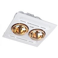 Đèn sưởi nhà tắm âm trần 2 bóng Kottmann K9-S - hàng chính hãng thumbnail