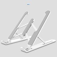 Giá đỡ laptop ABS có thể gấp gọn dành cho Macbook Ipad Surface và máy tính xách tay ( Giao màu ngẫu nhiên ) thumbnail