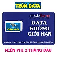 SIM 4G MOBIFONE TRÙM DATA FV99 (KHÔNG GIỚI HẠN DUNG LƯỢNG, Tốc Độ Luôn Luôn Cao 2Mbs) FREE 02 THÁNG ĐẦU (MIỄN PHÍ 60 NGÀY) thumbnail