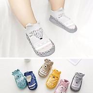 Giày tập đi có đế chống trượt cho bé trai bé gái cỡ 12-13cm thumbnail