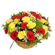 Giỏ hoa tươi - Năng lượng mới 3987 thumbnail