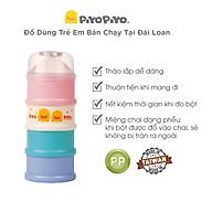 Hộp chia sữa 4 tầng Piyo Piyo - PY830007 có phễu, mỗi ngăn chứa đủ bữa ăn của một lần thumbnail