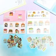 Combo 2 Bộ 32, 48 Sticker Hình Dán Mini Ngôi Nhà thumbnail