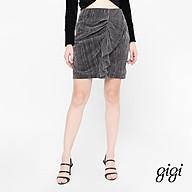 GIGI - Chân váy mini bút chì Asymetric Draped G3301211516H-87 thumbnail