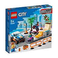 Đồ chơi LEGO City Khu Vui Chơi Trượt Ván 60290 thumbnail