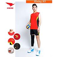 Bộ quần áo bóng chuyền cao cấp thương hiệu HIWING H5 màu đỏ thumbnail