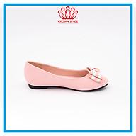 Giày Búp Bê Đi Học Bé Gái Sành Điệu Crown Princess Ballerina CRUK3119 Chất Liệu Cao Cấp Nhẹ Êm Thoáng Mát Size 28-36 4-14 Tuổi thumbnail
