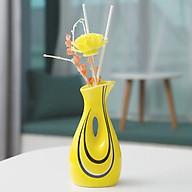 Lọ Cắm Hoa Kèm Tinh Dầu Thơm Phòng Mẫu 02 - Tặng 1 cột tóc quả bơ thumbnail