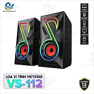 Loa Bluetooth Vi Tính Việt Star Quốc Tế VS-112, Hiệu Ứng Đèn Led Cực Chất, Âm Thanh Tuyệt Đỉnh - Hàng Chính Hãng thumbnail