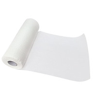 Non-woven Kitchen Paper Towels 50 Towels per Roll Face Towels Soft Extra Disposable Tissues White Cleansing Towelettes thumbnail
