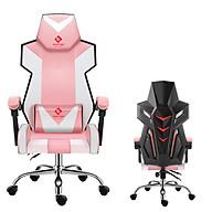 Ghế chơi game cao cấp dành cho game thủ chân xoay nghiêng ngả 135 độ có gối masage lưng model E05 (Hàng nhập khẩu ) Thái Lan mẫu mới 2020 thumbnail