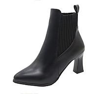Giày boot nữ cổ thấp thiết kế theo phong cách Hàn Quốc GIAY.CG8016 thumbnail