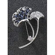 Cài áo thời trang hình dẻ quạt đính đá cao cấp (GC60) thumbnail