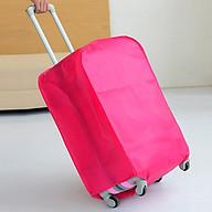 Áo bọc vali chống trầy xước, chống bụi vải dày đủ size ( 1 cái) thumbnail
