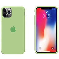 Ốp Lưng Liquid Silicone Dẻo Lót Nhung Cho iPhone 11 Pro Max ( 6.5 ) - Chống Bám Vân Tay & Viền Bảo Vệ Camera ( Có 10 Màu Để Lựa Chọn ) thumbnail