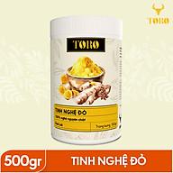Tinh bột nghệ đỏ TORO Curcumin 500gram - từ Dak Lak - 100% tinh nghệ đỏ [TORO FARM] - [TORO COFFEE] thumbnail
