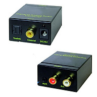 Bộ chuyển đổi tín hiệu âm thanh quang (Optical) sang Analog (RCA) có cổng 3.5 kèm dây nguồn Usb thumbnail