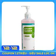 Dung dịch rửa tay sát khuẩn nhanh Alfasept Handrub 500ml - Dạng nước thumbnail