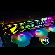 Thanh Led RGB AORUS đồng bộ Hub , Dùng độ trang trí cho VGA máy tính - hàng nhập khẩu thumbnail